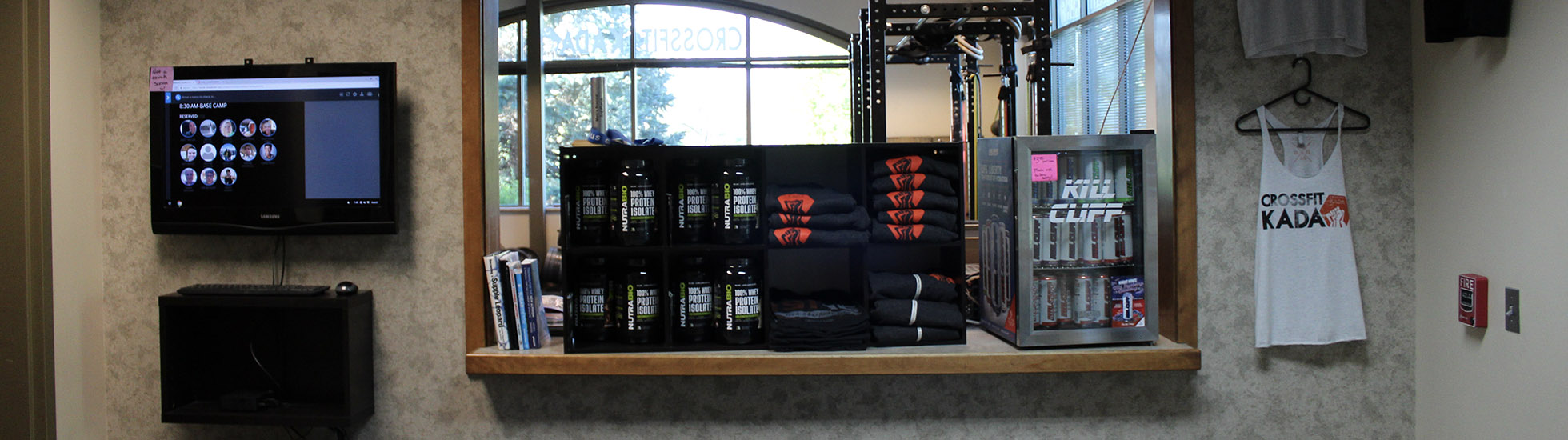 Gym Store at CrossFit KADA in Littleton CO